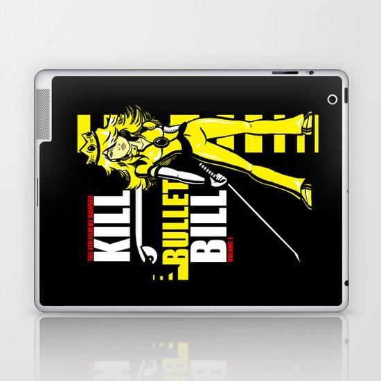 Kill Bullet Bill (Black/Yellow Variant) Laptop & iPad Skin
