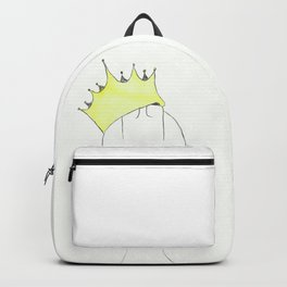 Home Constructess - Hard hat and crown Backpack