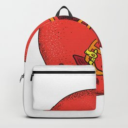 American Football Helmet  Tattoo Backpack
