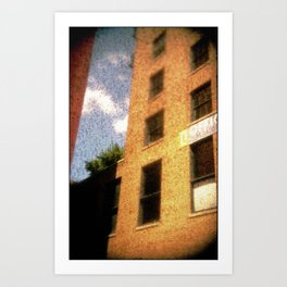The City - Walls #2 Art Print