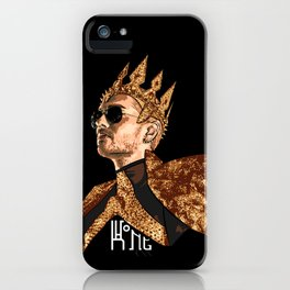 King Bill - White Text iPhone Case