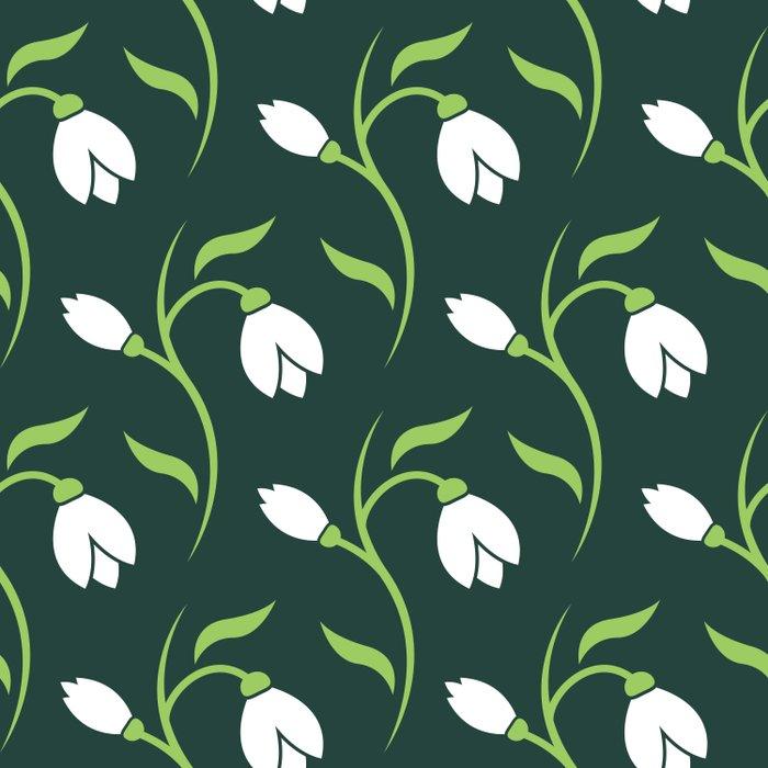 Spring Snowdrop Pattern Comforters