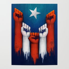 Puerto Rico power of the people Poster