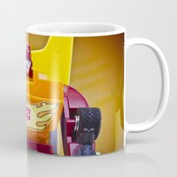 transformer Mugs featuring G1 Transformers Autobot Rodimus Prime by TJAguilar Photos