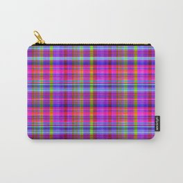 Classic Plaid Carry-All Pouch