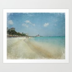 Vintage Aruba Art Print