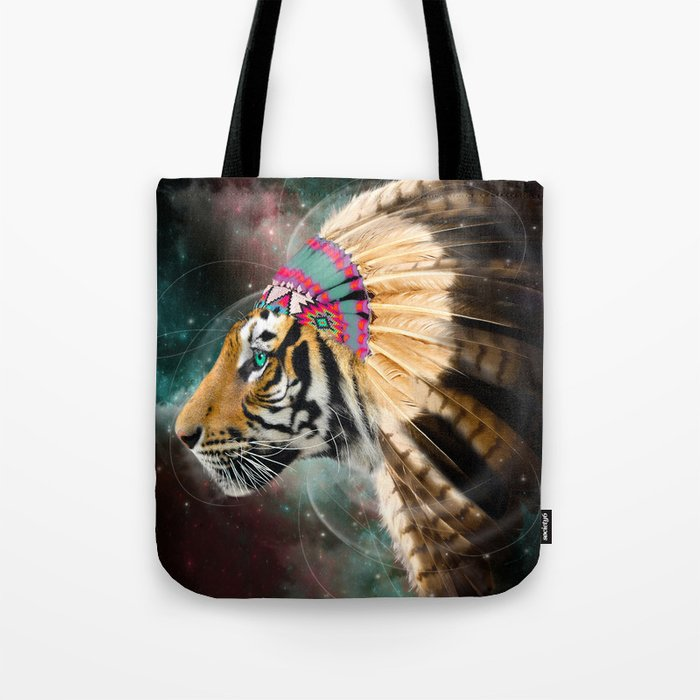 Fight For What You Love (Chief of Dreams: Tiger) Tribe Series Tote Bag