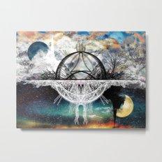 TwoWorldsofDesign Metal Print