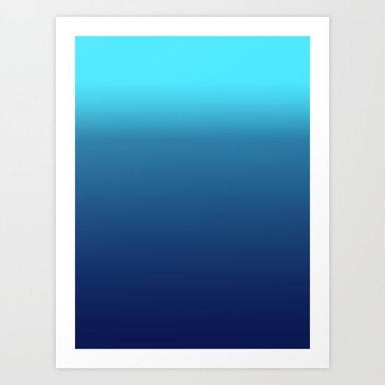 Lets Swim in the Ocean Art Print
