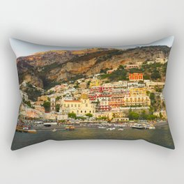 Positano Dreaming Rectangular Pillow