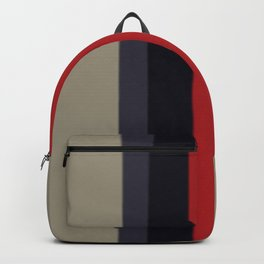 High Fashion Designer Style Stripes Backpack