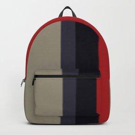 High Fashion Designer Style Stripes Backpack