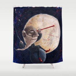 Galileo Galilei - Osservando la notte Shower Curtain