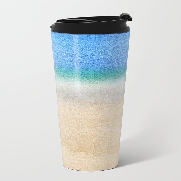 Tropical sea #8 Metal Travel Mug