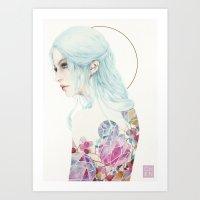 Madmoiselle Art Print
