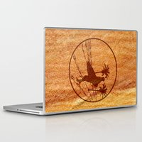 surfing Laptop & iPad Skins featuring surfing by Paul Simms