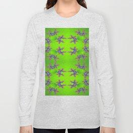 Abstract-lightning-pattern Long Sleeve T-shirt