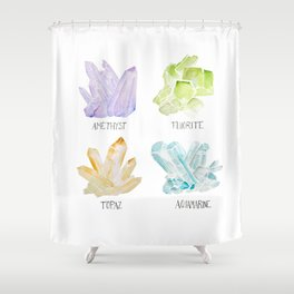 Rock collector Shower Curtain