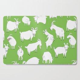 Green Goats Cutting Board