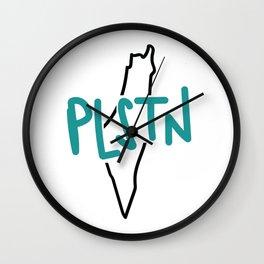 PLSTN x Blue Wall Clock