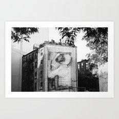 East Village XII Art Print