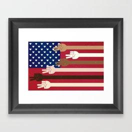 United Together Framed Art Print
