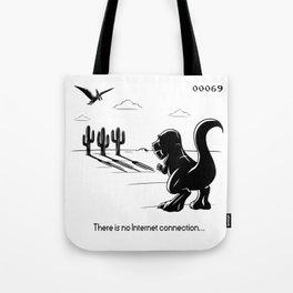 No Internet connection Tote Bag