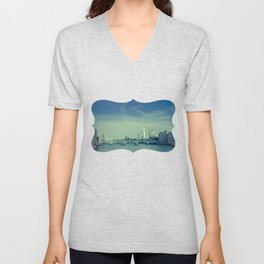 View to the Shard Unisex V-Neck