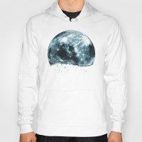 lunar Hoodies featuring lunar water by sustici