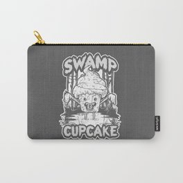 SWAMP CUPCAKE — Halloween vintage horror 80' Carry-All Pouch