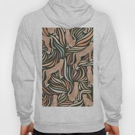 Cheetahs and Leaves / Earth Tones Hoody