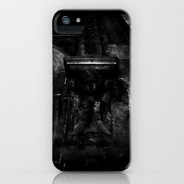 Crying Angel  iPhone Case