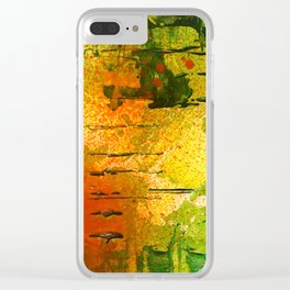Smack of Color Clear iPhone Case