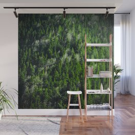 Forest pattern Wall Mural