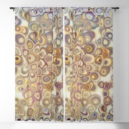 Shell Be Geodes Blackout Curtain