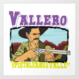Vallero01 Art Print