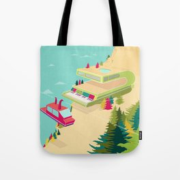 The Library at the Crumar Weimar Resort Tote Bag