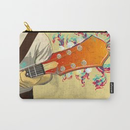 Colorful Guitar Piece Carry-All Pouch