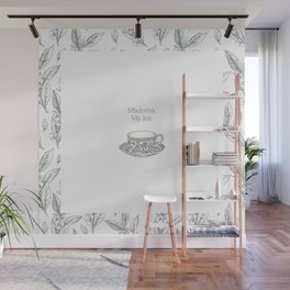 The Spilling of the Tea -V.1- Wall Mural