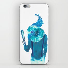 Baby Blue #1 iPhone Skin