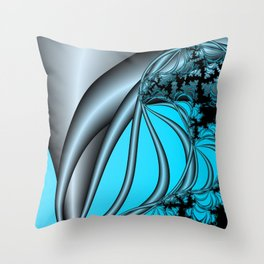 Steel Solice Throw Pillow