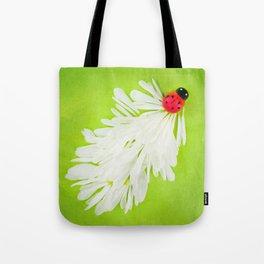 Ladybug Trail Tote Bag