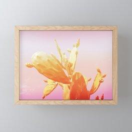 01_Fantasy#Cactus#retro#film#effect Framed Mini Art Print