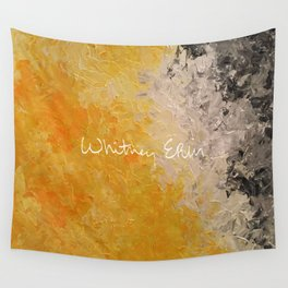 Eyes Closed - Tanning Wall Tapestry