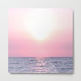 Calming Sea view Metal Print