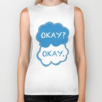 tfios Biker Tanks featuring TFIOS Dots by All Things M