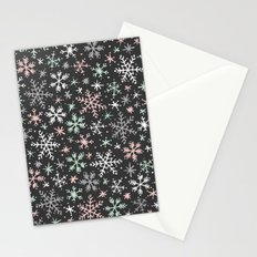 Snow Flurry Stationery Cards
