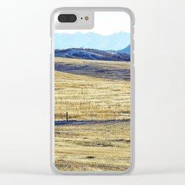Winter Run Clear iPhone Case