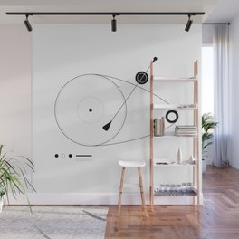 Record player Wall Mural