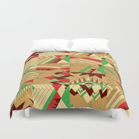 pocahontas Duvet Covers featuring Pocahontas by Sammy Cee